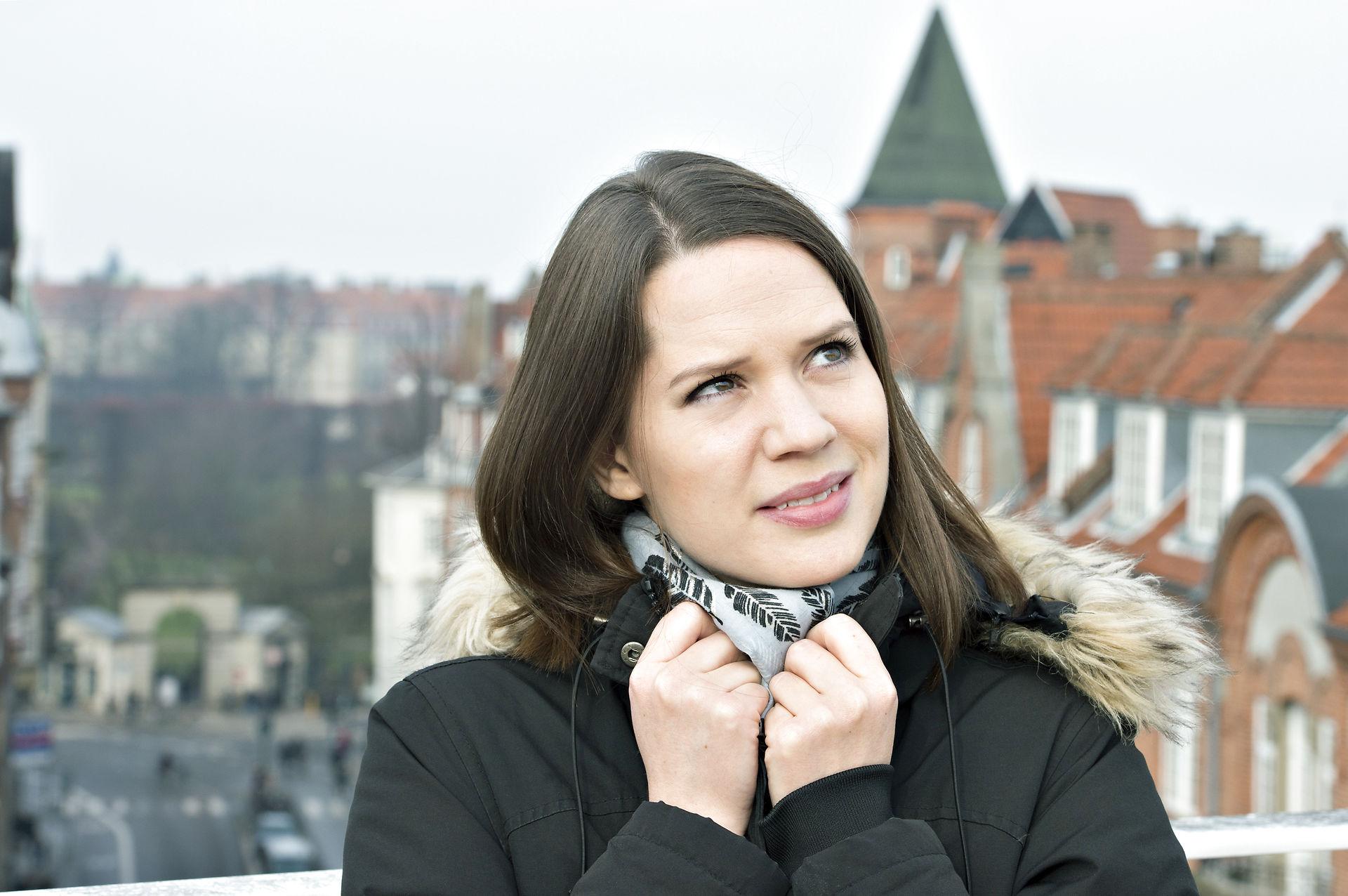 Amalie Dollerup amalie dollerup: nybagt mor og chef på badehotellet
