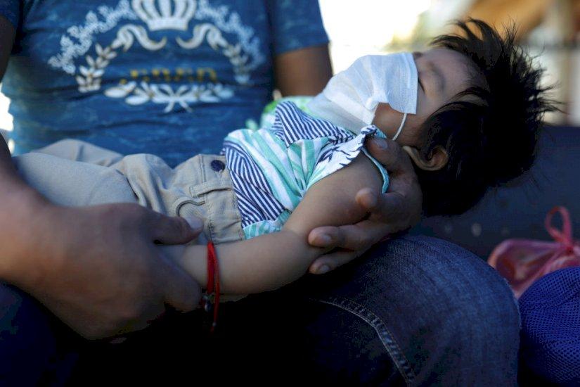 Spædbarn er det yngste dødsoffer: Hjerteskærende