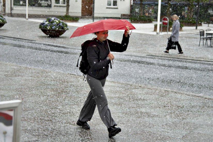 Dè British Island: Ned til 12 grader i dagtimerne