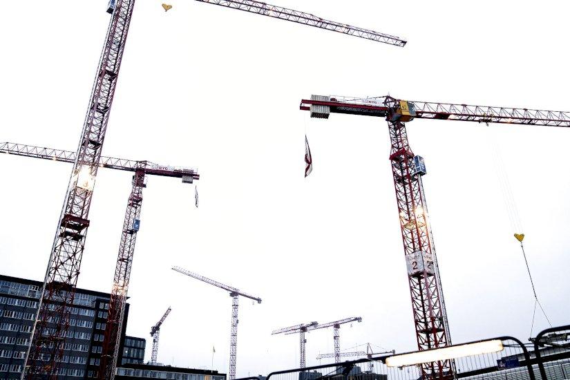 Illegale østarbejdere anholdt på byggeplads-kontrol