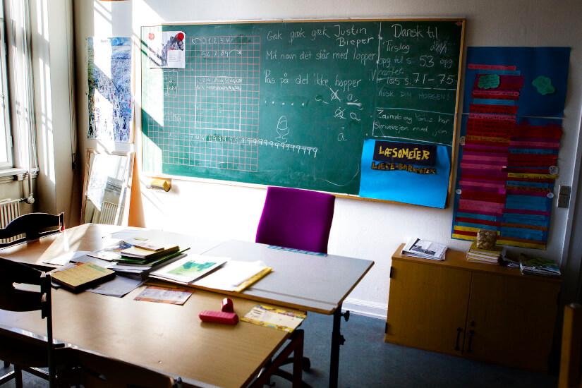 Halvdelen af de optagne på læreruddannelsen opfylder ikke...