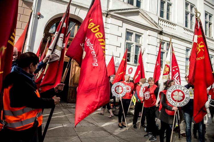 Striden der truer fagbevægelsens sammenhold