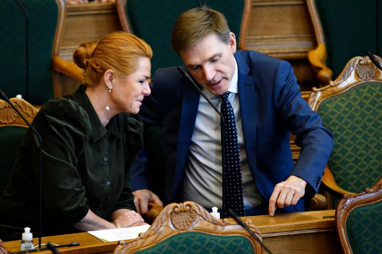 Dansk Folkeparti og Inger Støjberg rykker sammen