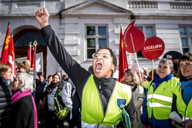 Heftig debat: Palesa afviser Dragsteds kompromis i lønstriden