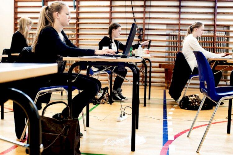 Elever_til_eksamen_Linda_Kastrup_Ritzau_Scanpix