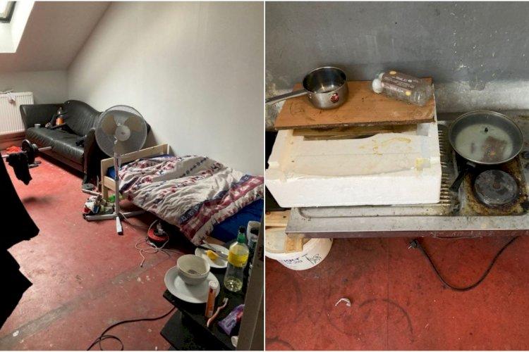 Lod 15 rumænere bo ulovligt i nedlagt bordel under slum-forhold: Kommune magtesløs