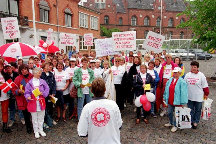 Nu optrapper Grete Christensen konflikten: Sådan er det gået sygeplejerskerne ved tidligere strejker