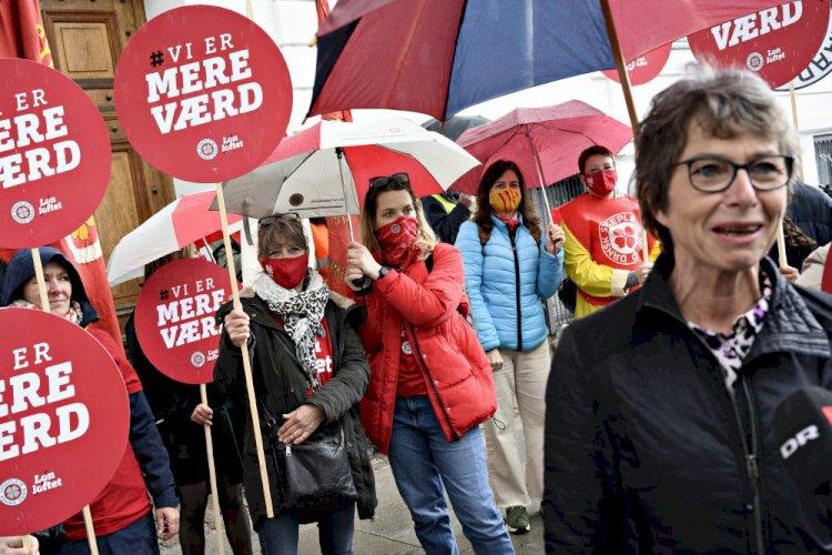 Ny måling: Flertal imod indgreb i sygeplejerskers strejke