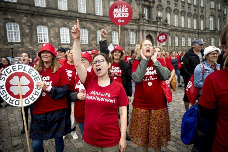 Sygeplejerske-strejken har været til at overse: Det ændrer sig nu, vurderer ekspert