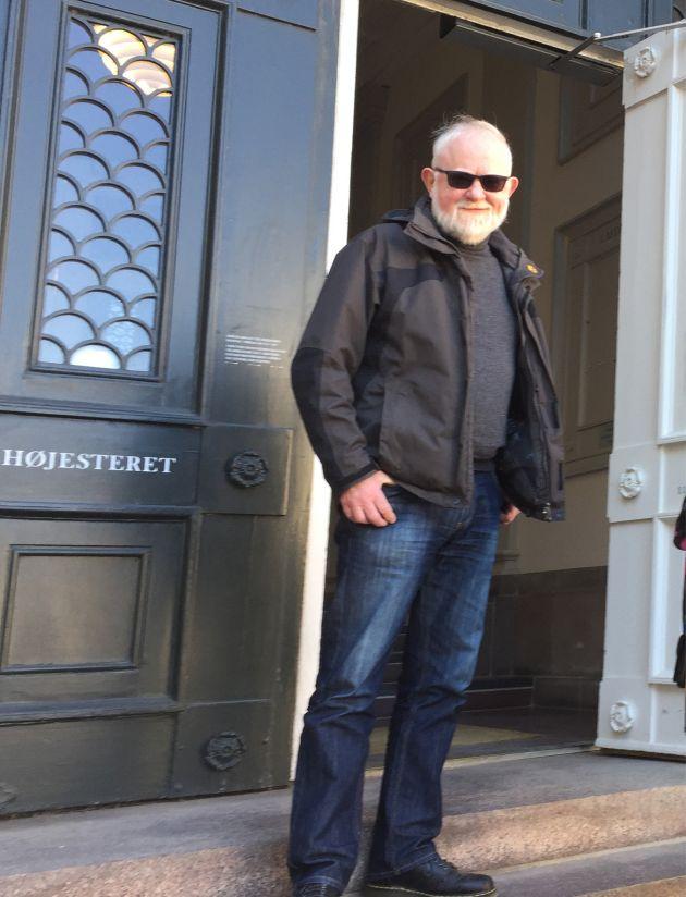 67-årige Jeppe Lund Hansen fra Ringe på Midtfyn blev i 2017 fyret fra sit fleksjob, da han nåede folkepensionsalderen.