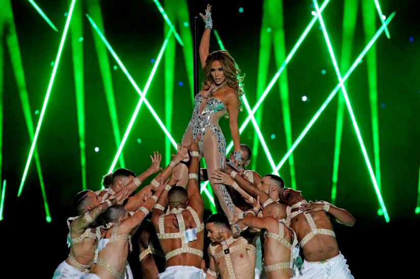 Jennifer Lopez Super Bowl 2020